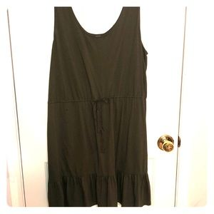 Olive Green Tassel Sundress